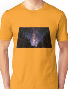 Trapezoidal Night Sky Unisex T-Shirt