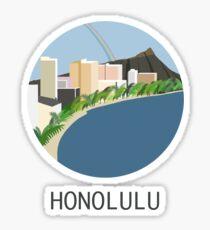 City Art Hawaii Honolulu Sticker