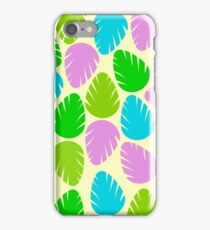 Colorful spring leaves iPhone Case/Skin