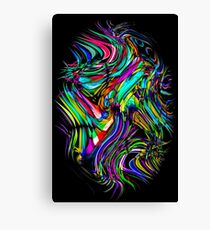 Recycled Smoke Art Design (1) Canvas Print
