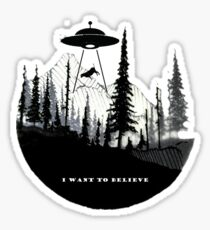 the x files Sticker