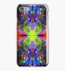 Neon trance iPhone Case/Skin