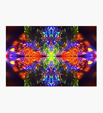 Neon trance Photographic Print