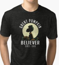 great pumpkin Tri-blend T-Shirt