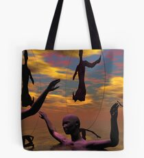 Dance Of Consciousness Tote Bag