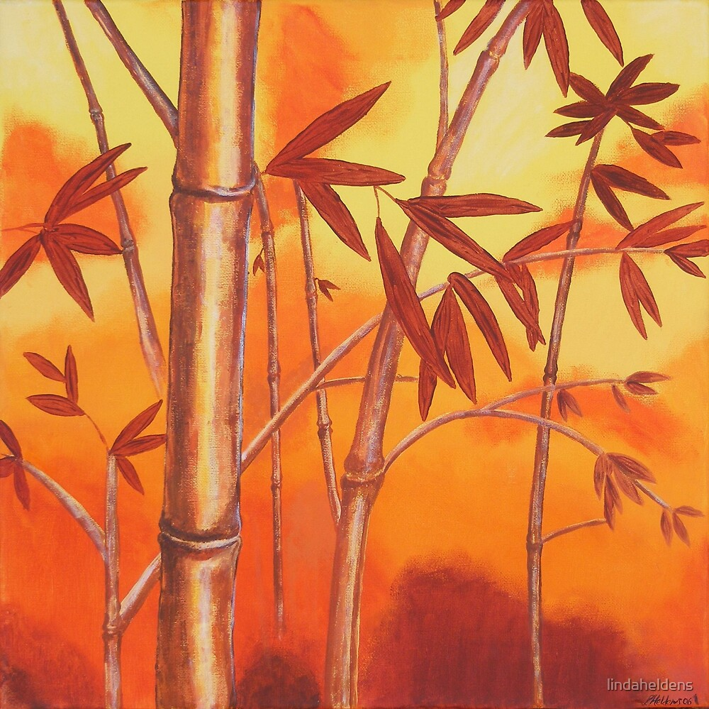 Sunset Bamboo by lindaheldens