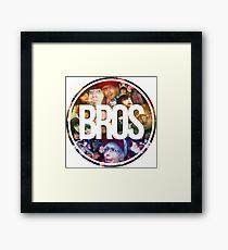 Bros Roxeles World Framed Print