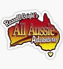 russell coight Sticker