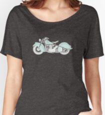 Indian Chief Motorcycle 1948  Women's Relaxed Fit T-Shirt
