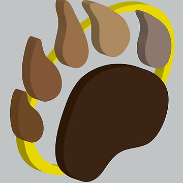 Mini Pawprint by grizzlygifts