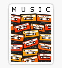 music styles listen dance Sticker