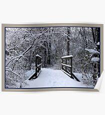 Ice bridge Poster