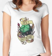 Roll Initiative Women's Fitted Scoop T-Shirt