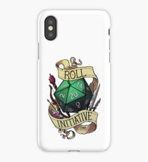 Roll Initiative iPhone Case/Skin