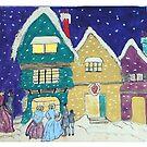 Christmas Visitors by Gilberte
