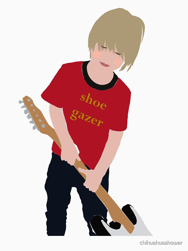 Shoe Gazer by chihuahuashower
