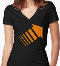 Chapter Three of Legion Women's Fitted V-Neck T-Shirt