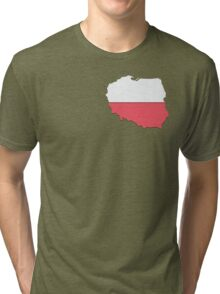 Poland Tri-blend T-Shirt