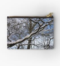 Wrapped in Winter's Cold Embrace Studio Pouch