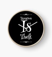 Taxation Is Theft Clock