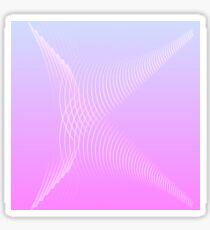 Abstract Uppercase K Illustration Sticker