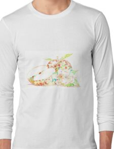 Apple and flowers blossom  Long Sleeve T-Shirt