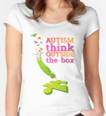 Autism Awareness Autism tshirt Women's Fitted Scoop T-Shirt
