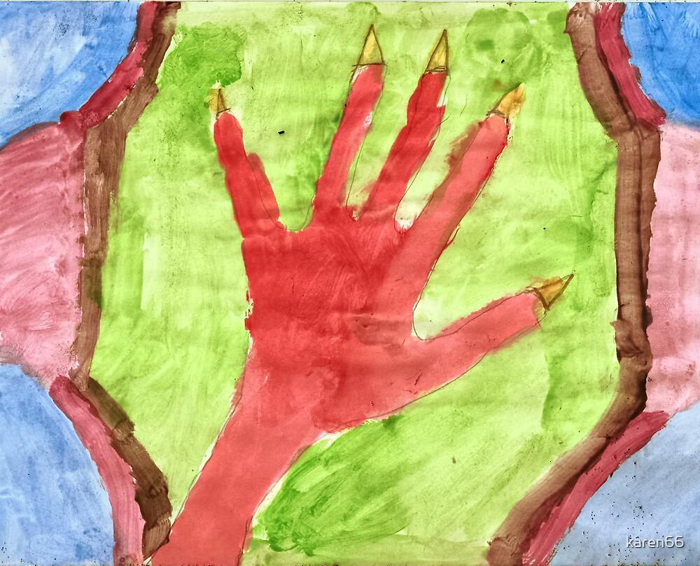 Creature's Hand by karen66
