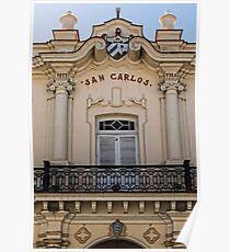 The San Carlos Cuban Institute ©  Poster