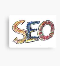 Seo, internet, website, marketing, Canvas Print