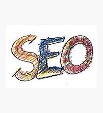 Seo, internet, website, marketing, Photographic Print
