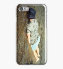 Relax in the river iPhone Case/Skin