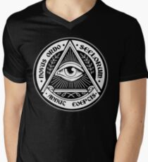 Illuminati Men's V-Neck T-Shirt