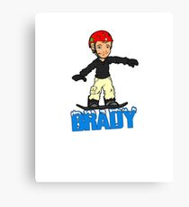 Brady Canvas Print