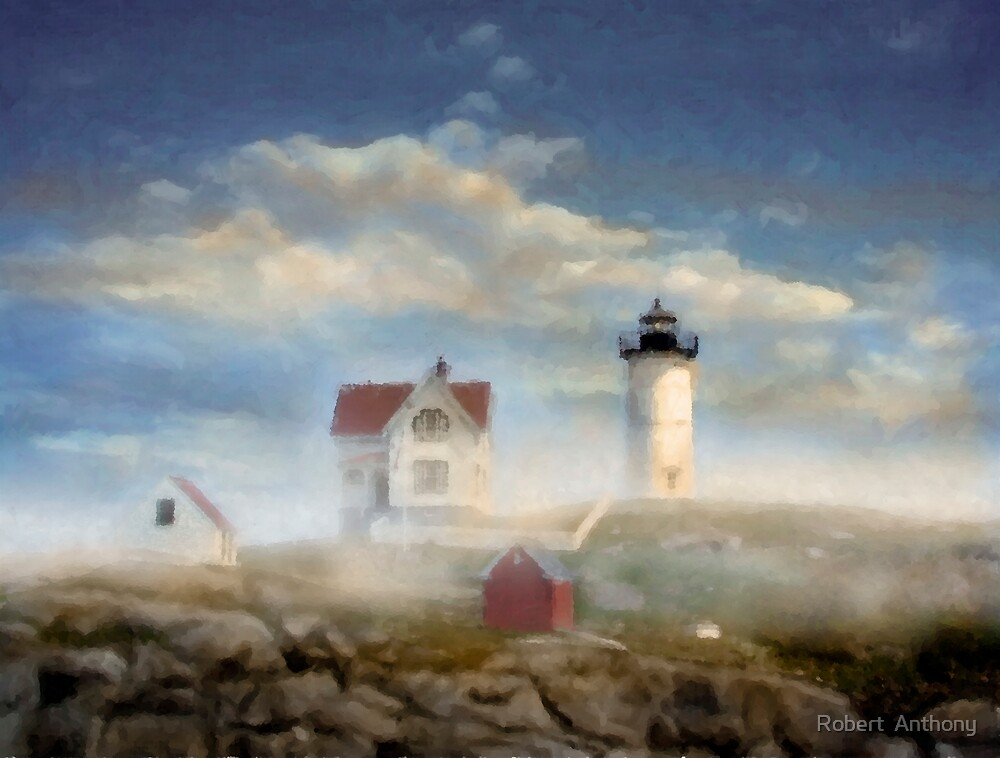 Lighthouse Morning by Robert  Anthony