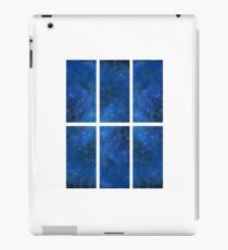 The view from one window of the TARDIS iPad Case/Skin