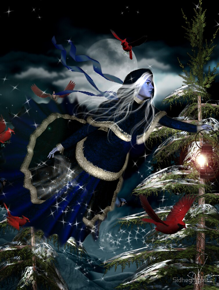 The Dance of Winter by Sidhegraphics