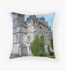 Ashford Castle - County Mayo, Ireland Throw Pillow