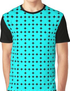 SIMPLE GEOMETRIC SHAPES PATTERN TEXTURE Graphic T-Shirt