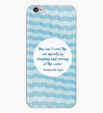 Tagore by the Sea iPhone Case