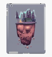 Floating Island with Aurora Borealis iPad Case/Skin