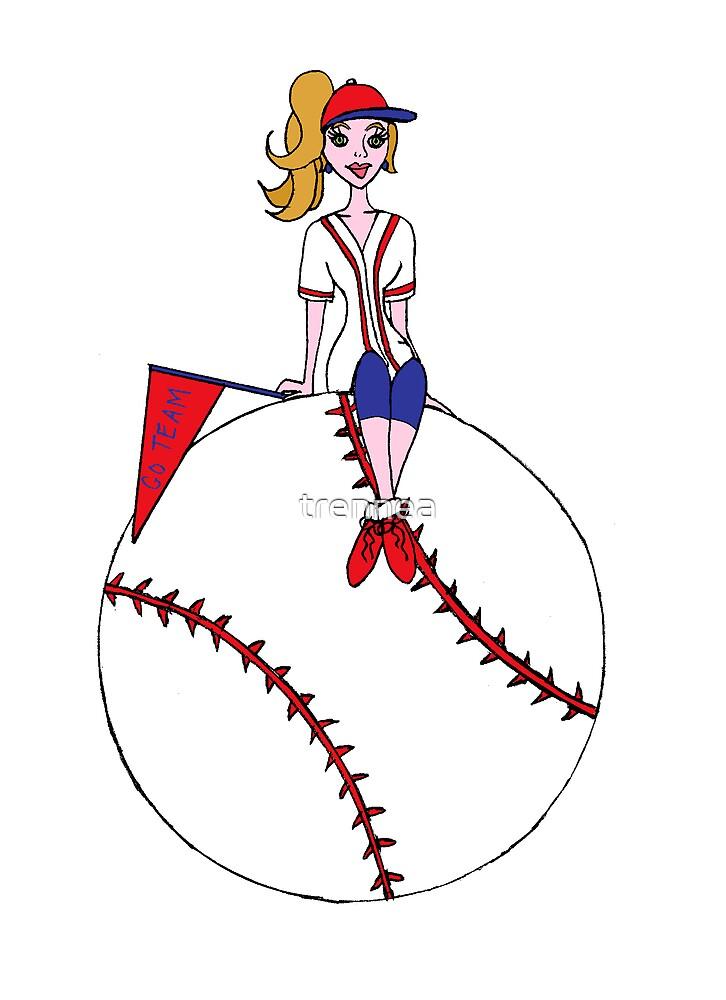 Baseball Fan by trennea