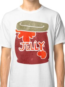 retro cartoon jar of jelly Classic T-Shirt