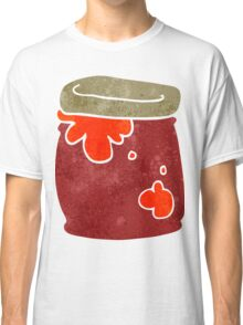 retro cartoon jar of jam Classic T-Shirt