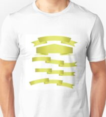 gold ribbon Unisex T-Shirt