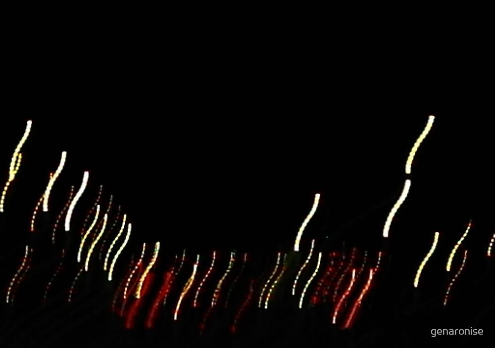 falling lights by genaronise