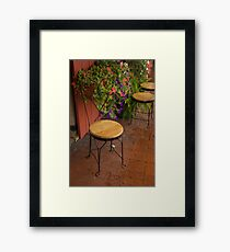 Seated Valentine Framed Print