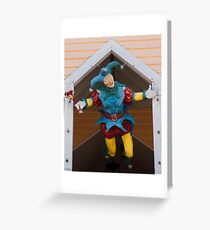 Key West Art - The Flying Jester ©  Greeting Card