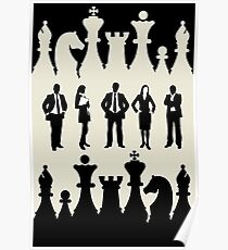 chess succes business Poster