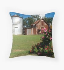 Flower Mail Throw Pillow